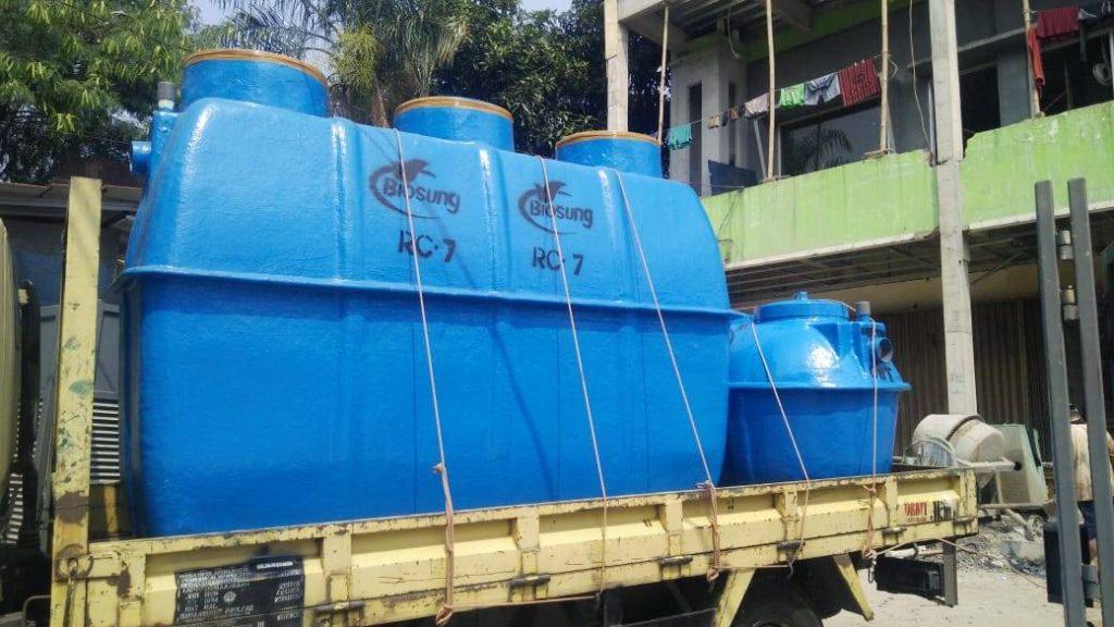 Gambar septic tank fibreglass